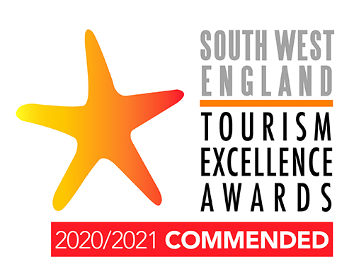 South West Tourism Excellence Awards - Commended 20/21